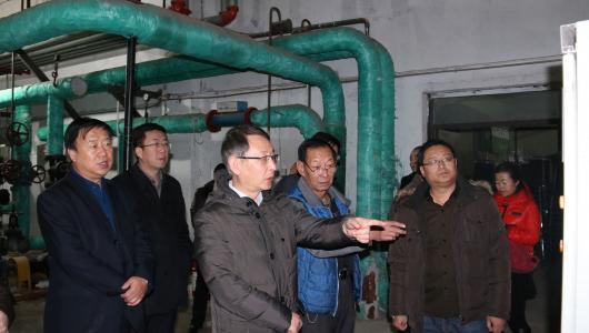 自治区文化厅副厅长乔玉光一行到内蒙古包头博物馆检查安全生产工作