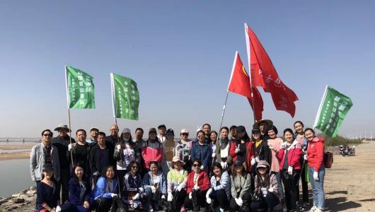"""保护母亲河,包博在行动 ——内蒙古包头博物馆党支部、团支部开展""""作风建设年""""主题志愿活动"""