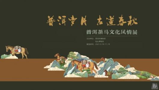 《普洱岁月·古道春秋——普洱茶马文化风情展》在包头博物馆展出